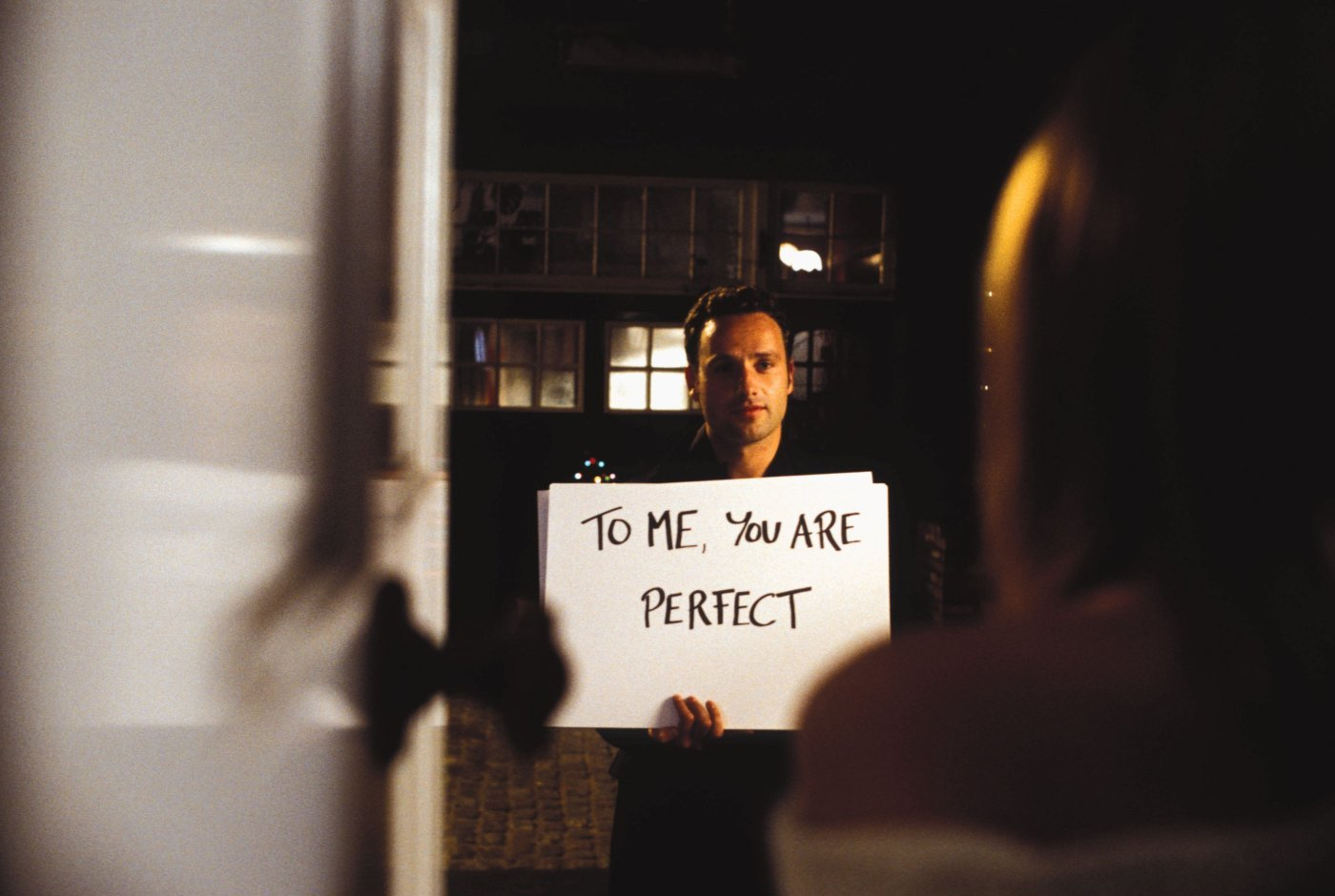 You are perfect - Love actually
